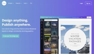 The Canva website recently suffered a major data breach