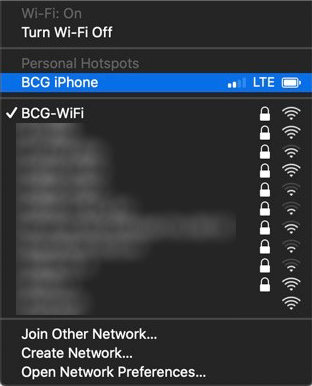 After the power shutoff I could access my Wi-Fi network again